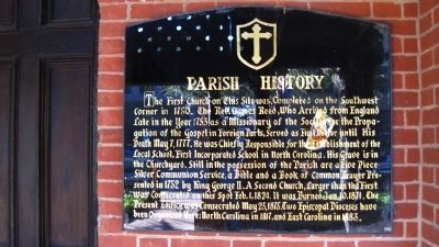 Parish History Marker image. Click for full size.