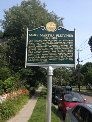 Mary Martha Fletcher Marker image. Click for full size.