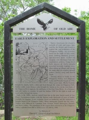 Early Exploration and Settlement Marker image. Click for full size.