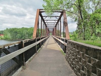 Bridge on the Chippewa River Trail image. Click for full size.
