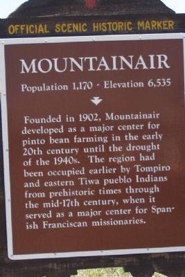 Mountainair (West) Marker image. Click for full size.