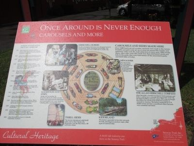 Once Around is Never Enough Marker image. Click for full size.