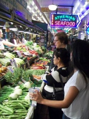 Pike Place Market Produce Stand image. Click for full size.