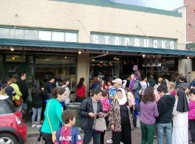 Original Starbucks at Pike Place image. Click for full size.