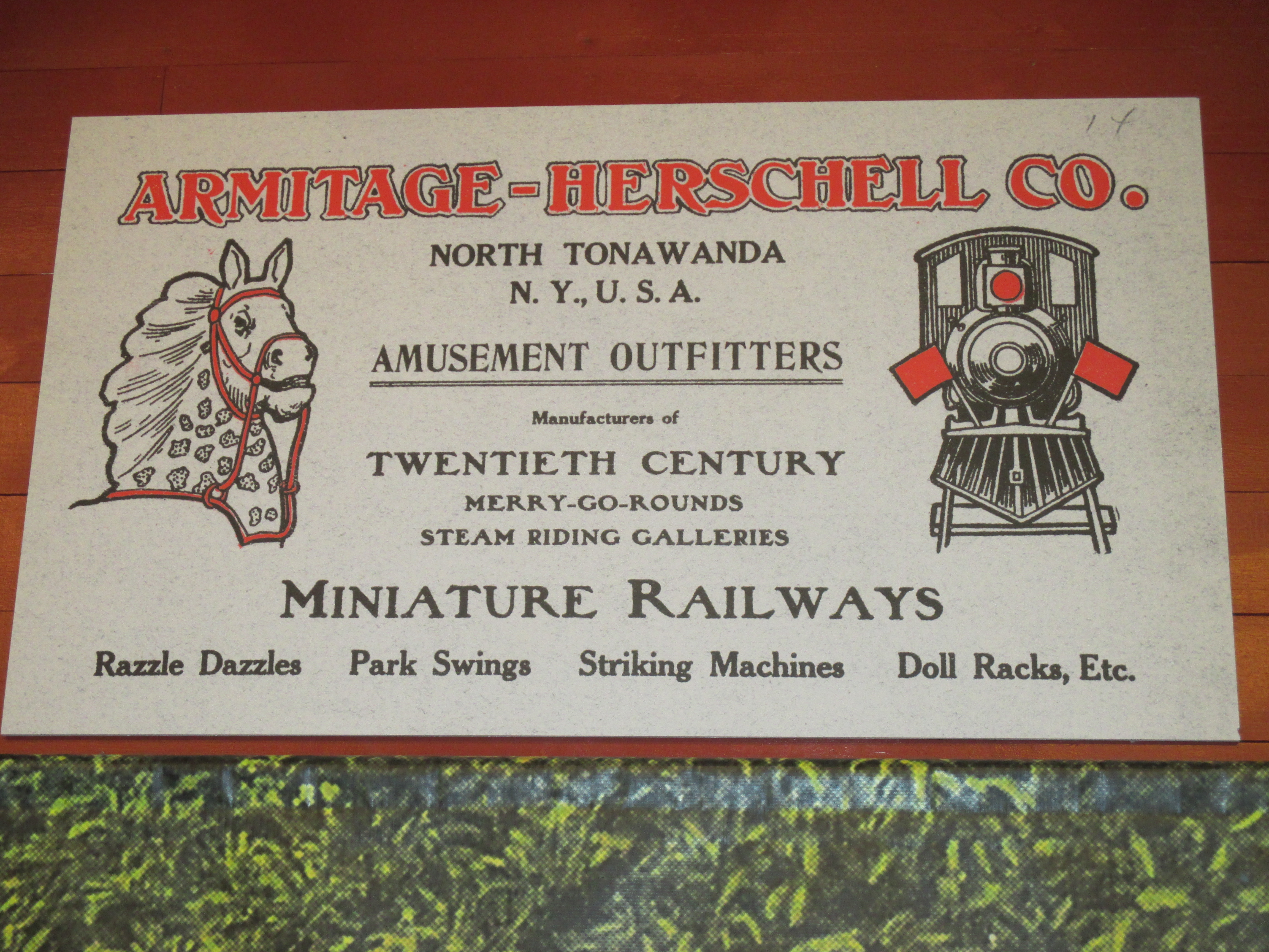 Sign Above Train Display