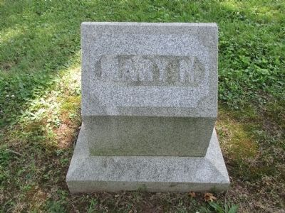 Mary Hosford Headstone image. Click for full size.