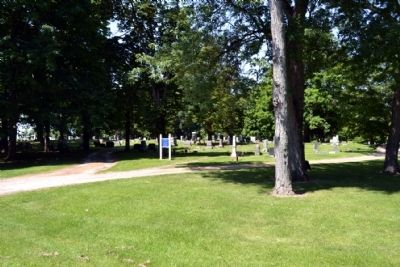 Entrance to Parks IOOF Cemetery image. Click for full size.