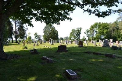 Parks IOOF Cemetery image. Click for full size.
