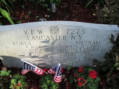 Lancaster, NY War Memorial image. Click for full size.