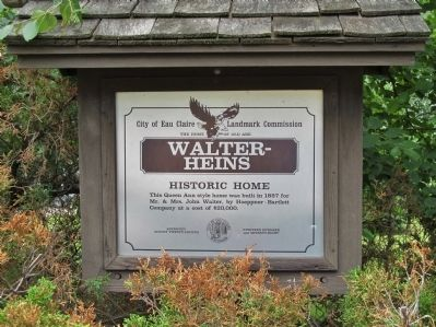 Walter-Heins Marker image. Click for full size.