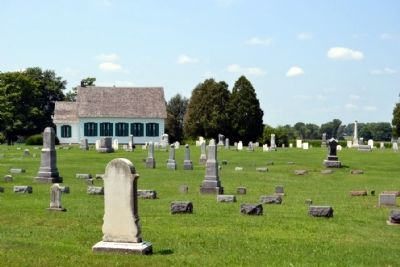 Pinhook Methodist Church and Cemetery image. Click for full size.