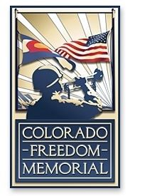 Colorado Freedom Memorial Logo image. Click for full size.