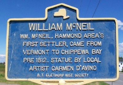 William McNeil Marker image. Click for full size.