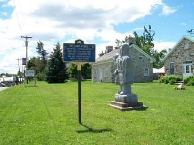 William McNeil Marker and Statue image. Click for full size.