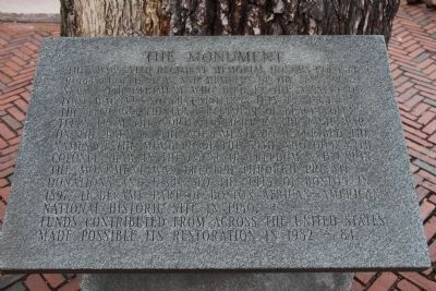 The Monument Marker image. Click for full size.