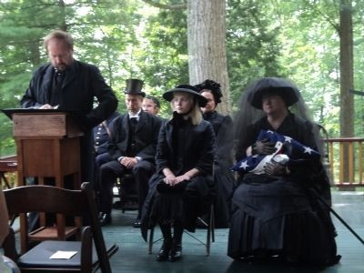 Memorial Service for Ulysses S. Grant image. Click for full size.