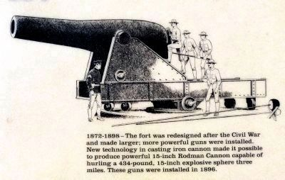 15 inch Rodman Gun image. Click for full size.