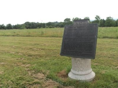Marker on Benner's Hill image. Click for full size.