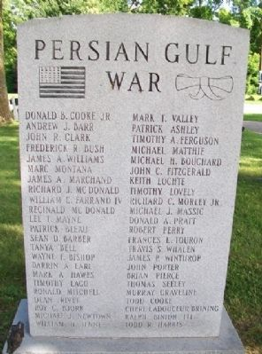 Persian Gulf War Memorial image. Click for full size.