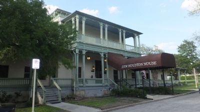 Sam Houston House image. Click for full size.