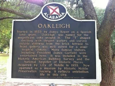 Oakleigh Marker image. Click for full size.