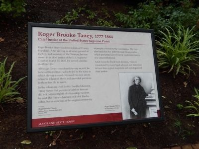 Roger Brooke Taney, 1777 - 1864 Marker image. Click for full size.