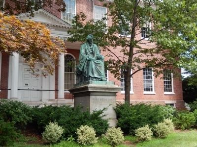 Roger Brooke Taney Statue image. Click for full size.