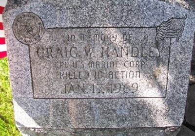 Craig W. Handley Memorial image. Click for full size.