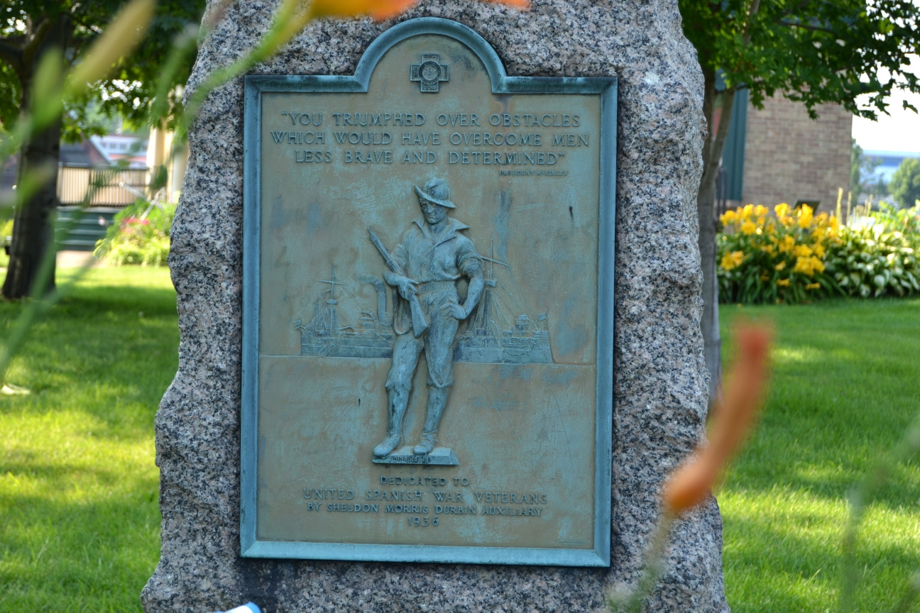 Michigan City Spanish War Veterans Memorial