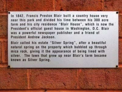 Blair House Marker image. Click for full size.