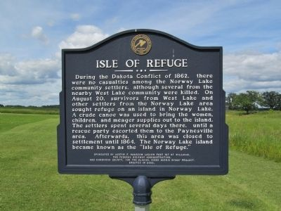 Isle of Refuge Marker image. Click for full size.