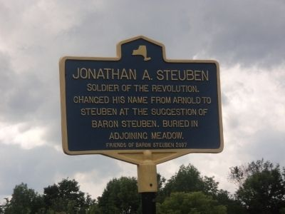 Jonathan A. Steuben Marker image. Click for full size.
