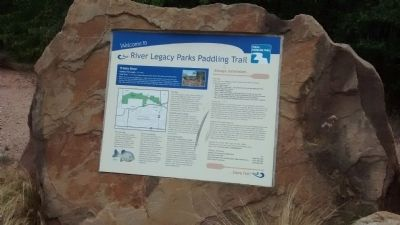 River Legacy Parks Paddling Trail image. Click for full size.