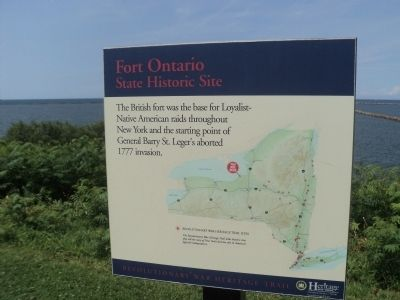 Fort Ontario State Historic Site Marker image. Click for full size.