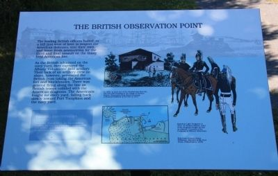 The British Observation Point Marker image. Click for full size.