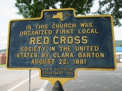 First Local Red Cross Marker image. Click for full size.