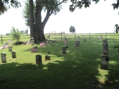 The Post Cemetery at Fort Ontario image. Click for full size.