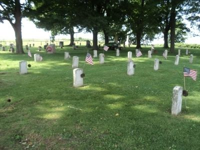 Fort Ontario Post Cemetery image. Click for full size.