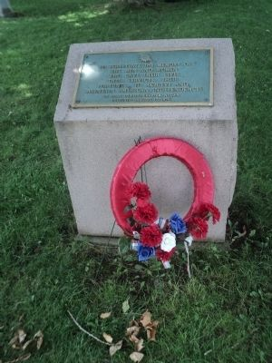 Revolutionary War Patriots Monument image. Click for full size.