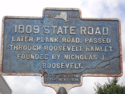 1809 State Road Marker image. Click for full size.