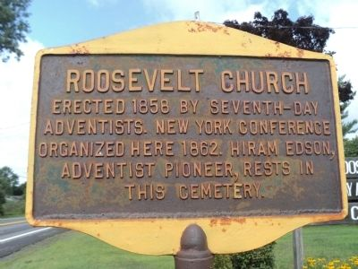Roosevelt Church Marker image. Click for full size.