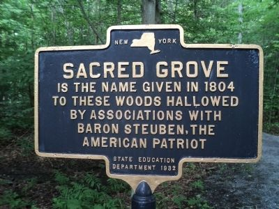 Sacred Grove Marker image. Click for full size.