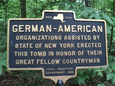 German-American Organizations Marker image. Click for full size.