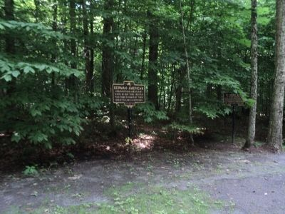Marker in Steuben Memorial Park image. Click for full size.