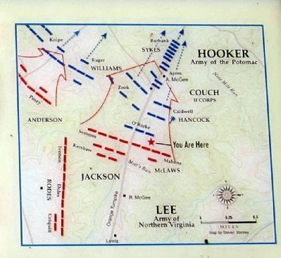First Day at Chancellorsville image. Click for full size.