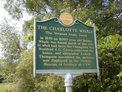 The Charlotte Whale Marker image. Click for full size.