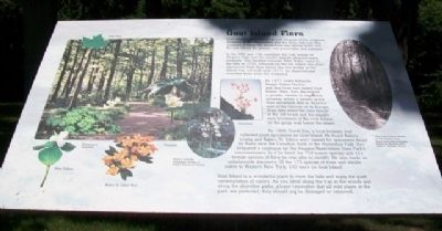 Goat Island Flora Marker image. Click for full size.