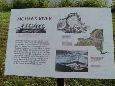 Mohawk River Marker image. Click for full size.