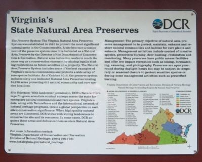 Virginia's State Natural Area Preserves image. Click for full size.
