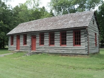 Steuben's Cabin image. Click for full size.